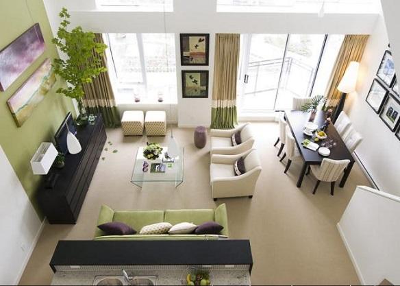 Không nên chọn những căn có hướng ban công và cửa sổ bị nắng chiếu thẳng