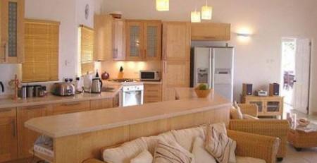 cách kết hợp phòng bếp và phòng khách